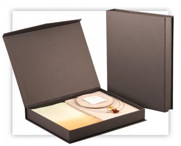 Kartonowe, kaszerowane pudełko na duży zestaw