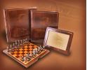 Kaseta z szachami, album, ramka na zdjęcia